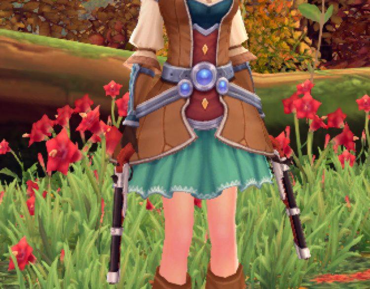 Meet Kyrina, my gunslinger character in Aura Kingdom.