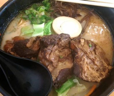 Paiku-men (Tender Ribs) Ramen