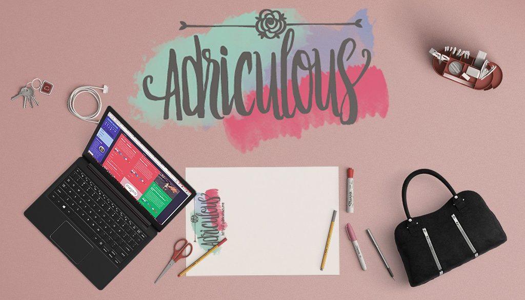 ADRICULOUS Desk Mockup