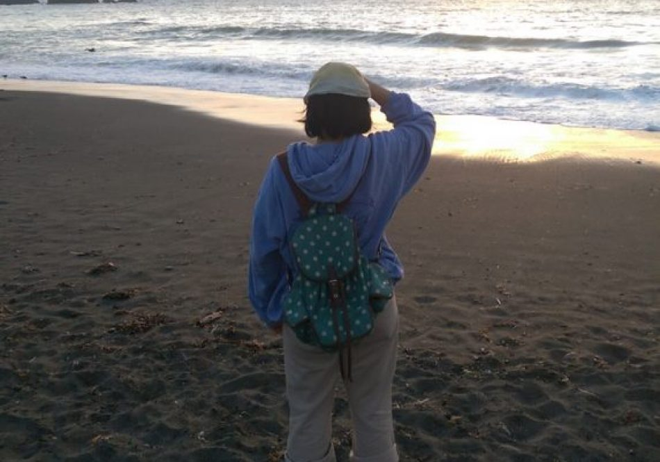 At Rockaway Beach, Pacifica, California