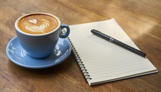 Coffee & Notebook