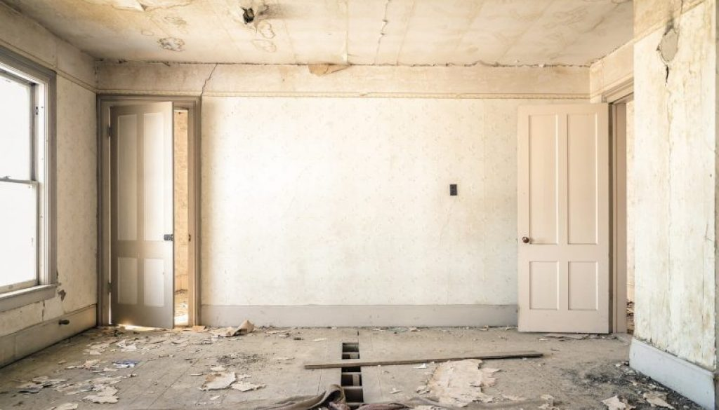 Room in renovation